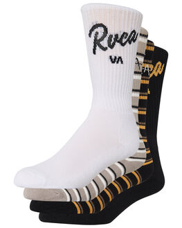 MULTI MENS CLOTHING RVCA SOCKS + UNDERWEAR - R193603AMUL