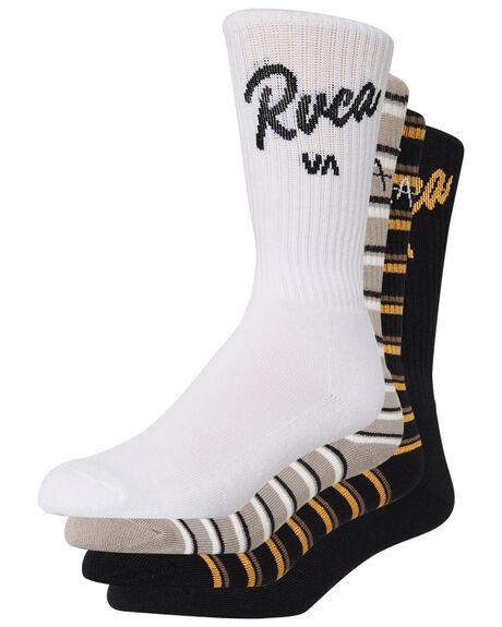 MULTI MENS CLOTHING RVCA SOCKS + UNDERWEAR - R193603AMUL