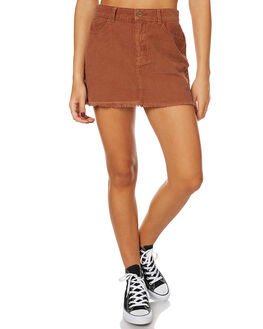 BRICK WOMENS CLOTHING AFENDS SKIRTS - 52-03-054BRICK