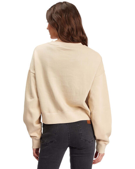 TAPIOCA WOMENS CLOTHING ROXY HOODIES + SWEATS - ARJFT03899-TEH0