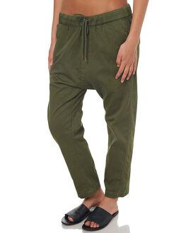 KHAKI WOMENS CLOTHING RES DENIM PANTS - RW0893KHA