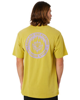 OLIVE OUTLET MENS VOLCOM TEES - A4341804OLV