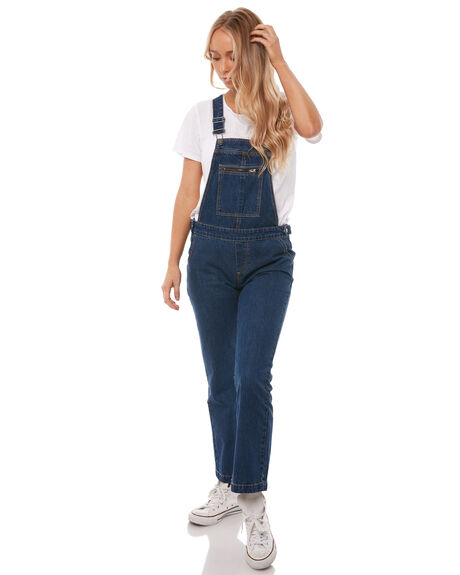 VINTAGE BLUE WOMENS CLOTHING THE HIDDEN WAY PLAYSUITS + OVERALLS - H8182194VBLUE