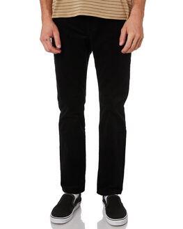 BLACK MENS CLOTHING VOLCOM PANTS - A1141801BLK