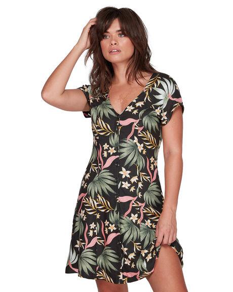 CHARCOAL WOMENS CLOTHING ELEMENT DRESSES - EL-207861-CHA