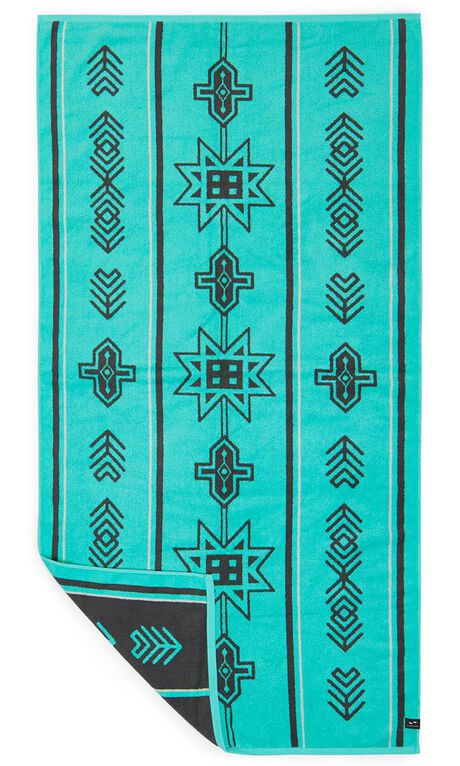TEAL MENS ACCESSORIES SLOWTIDE TOWELS - ST091TEAL