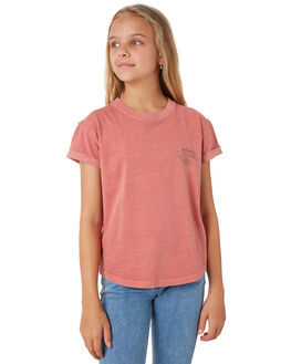 ROSE RED KIDS GIRLS RIP CURL TOPS - JTEET13435