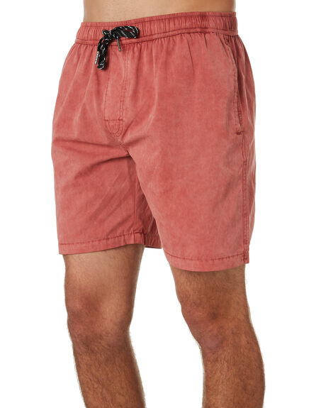 PEACH CORAL MENS CLOTHING SWELL BOARDSHORTS - S5164233PCHCL