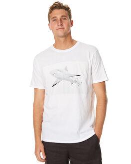 WHITE MENS CLOTHING OURCASTE TEES - T1120WHT