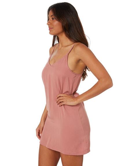 ASH PINK WOMENS CLOTHING RUSTY DRESSES - DRL1053APK