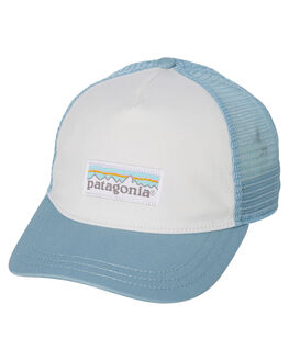 WHITE BIG SKY BLUE WOMENS ACCESSORIES PATAGONIA HEADWEAR - 38198WBSE