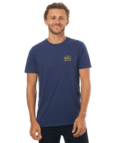 NAVY MENS CLOTHING DEPACTUS TEES - D5171004NAVY