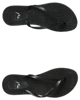 BLACK STEALTH WOMENS FOOTWEAR RUSTY THONGS - FOL0196BAH