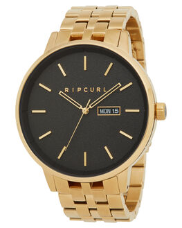 GOLD MENS ACCESSORIES RIP CURL WATCHES - A30480146