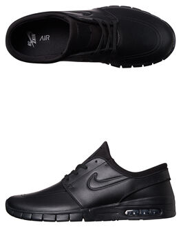 BLACK BLACK MENS FOOTWEAR NIKE SKATE SHOES - 685299-009