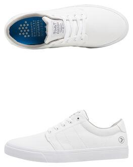 WHITE MENS FOOTWEAR KUSTOM SNEAKERS - KS-4991109-WHT