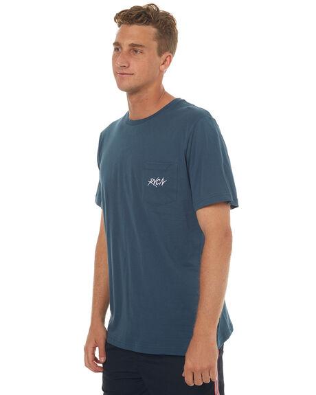 STARGAZER MENS CLOTHING RVCA TEES - R172043SGZR