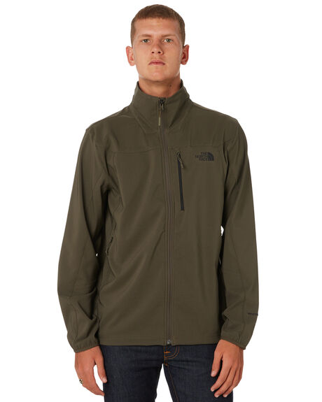 TAUPE GREEN MENS CLOTHING THE NORTH FACE JACKETS - NF0A3C7821L