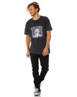 BLACK MENS CLOTHING BILLABONG TEES - 9582019BLK2