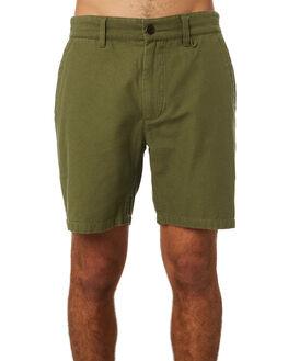 OLIVE MENS CLOTHING RHYTHM SHORTS - JUL19M-WS02-OLI