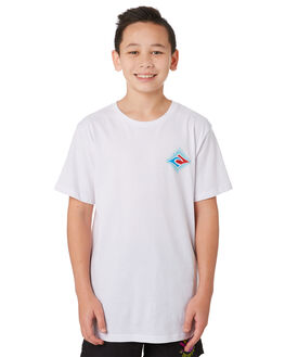 WHITE KIDS BOYS RIP CURL TOPS - KTEVR21000