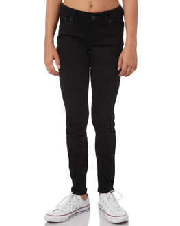 BLACK KIDS GIRLS LEVI'S PANTS - 37350-0102