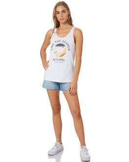 NAVY WOMENS CLOTHING RIP CURL SINGLETS - GTECJ20049
