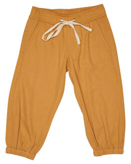 EARTHY CARAMEL KIDS BOYS ISLAND STATE CO PANTS - SURFERCHPANT-ERTHC