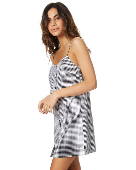 GINGHAM WOMENS CLOTHING RVCA DRESSES - R271755GING