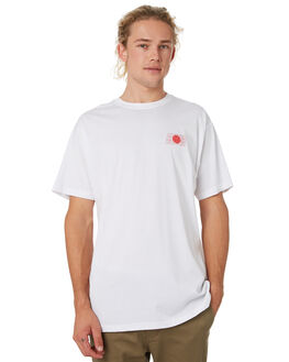WHITE MENS CLOTHING HUFFER TEES - MTE91S23.721WHT