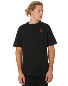 c6de832df BLACK MENS CLOTHING HERSCHEL SUPPLY CO TEES - 50027-00247BLK ...
