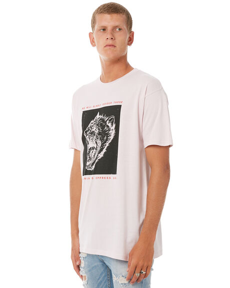 LILAC MENS CLOTHING WELCOME TEES - GDEVLILAC