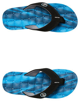 MARINE BLUE KIDS BOYS VOLCOM THONGS - X0811720MRB