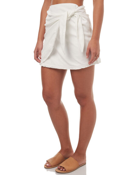 WHITE WOMENS CLOTHING SWELL SKIRTS - S8171471WHITE