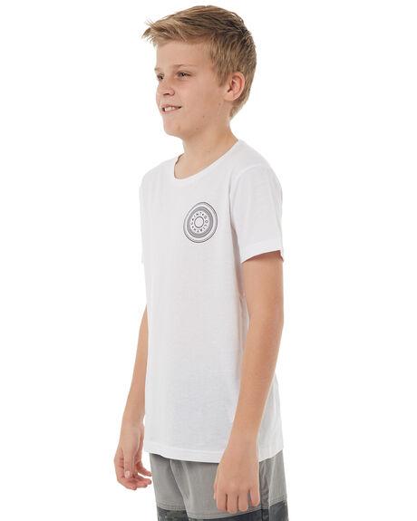 WHITE KIDS BOYS ST GOLIATH TEES - 2402030WHT