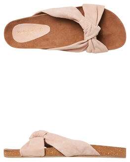 DUSTY PINK SUEDE WOMENS FOOTWEAR URGE FASHION SANDALS - URG17194DPINK