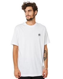 WHITE MENS CLOTHING ADIDAS TEES - FM9966WHT