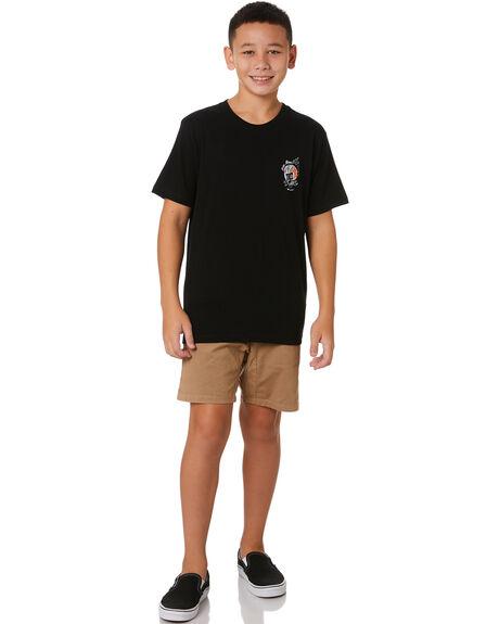 BLACK KIDS BOYS UNIT TOPS - 203310006BLK