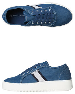 DENIM WOMENS FOOTWEAR BETTY BASICS SNEAKERS - BB905SP18DENIM