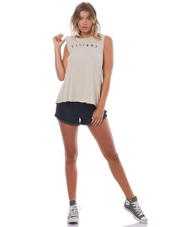 SAND WOMENS CLOTHING THRILLS SINGLETS - WTS7-102CSAND
