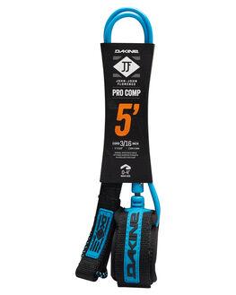 BLACK BLUE BOARDSPORTS SURF DAKINE LEASHES - 10001796BLKBL
