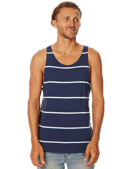 NAVY MENS CLOTHING SWELL SINGLETS - S5162272NVY