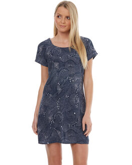 MIDNIGHT BLUE WOMENS CLOTHING VOLCOM DRESSES - B1331788MDB