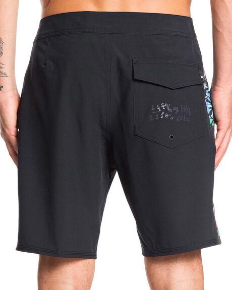 BLACK MENS CLOTHING QUIKSILVER BOARDSHORTS - EQYBS04219-KVJ0