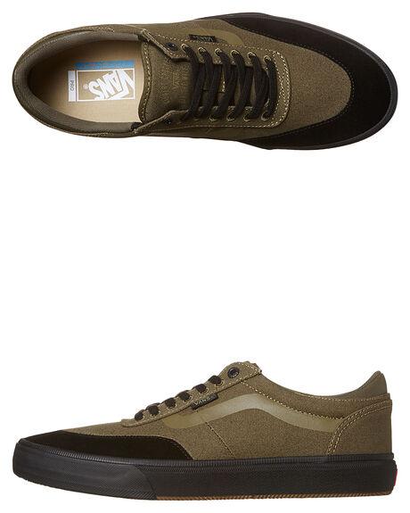077484945fd7 Vans Gilbert Crockett 2 Pro Suede Shoe - Ivy Green Black