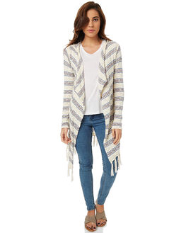 OFF WHITE WOMENS CLOTHING RIP CURL KNITS + CARDIGANS - GSWER10003