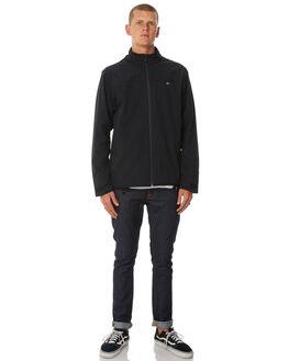 BLACK MENS CLOTHING QUIKSILVER JACKETS - EQYJK03405KVJ0