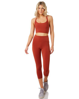 DARK RUST WOMENS CLOTHING LORNA JANE ACTIVEWEAR - 101904DKRST