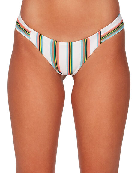 CREME WOMENS SWIMWEAR RVCA BIKINI BOTTOMS - RV-R407808-CEE
