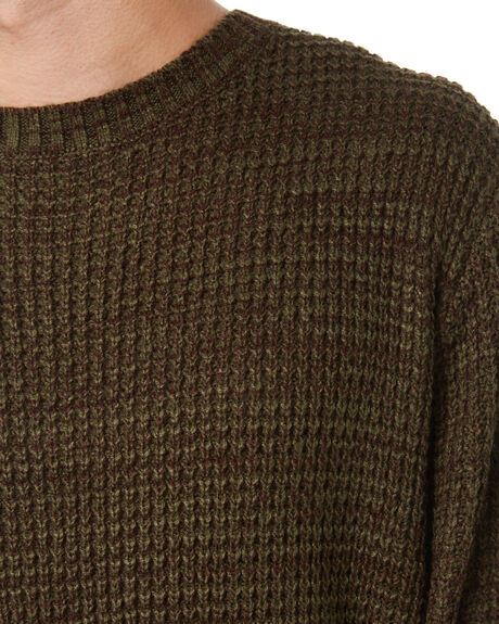 DARK OLIVE MENS CLOTHING RIP CURL KNITS + CARDIGANS - CSWAG99389